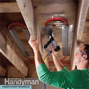 Electric vs hydronic radiant heat systems electric for Pex pipe pros and cons