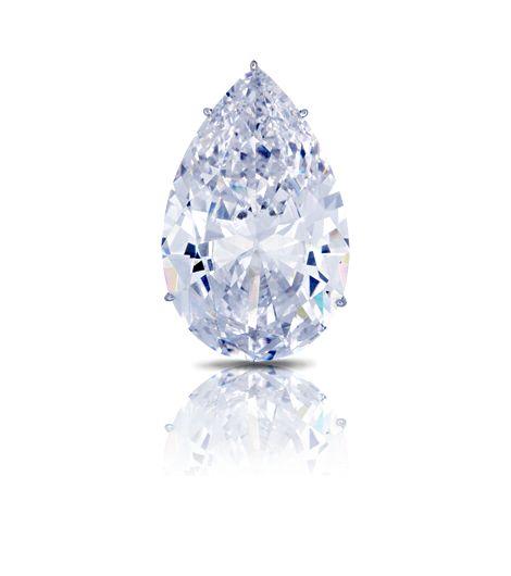 """The Bleu Blanc"" Diamond - 1985 / 55.91CTS"