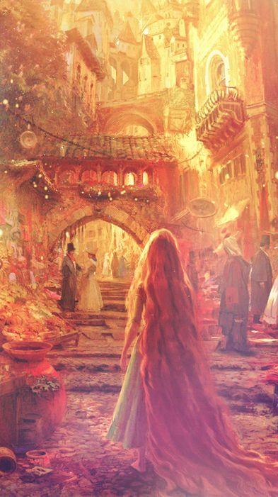 beautiful Disney/Fine art wallpapers. So cute!