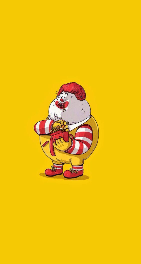 Ronald Mcdonald Fat 121