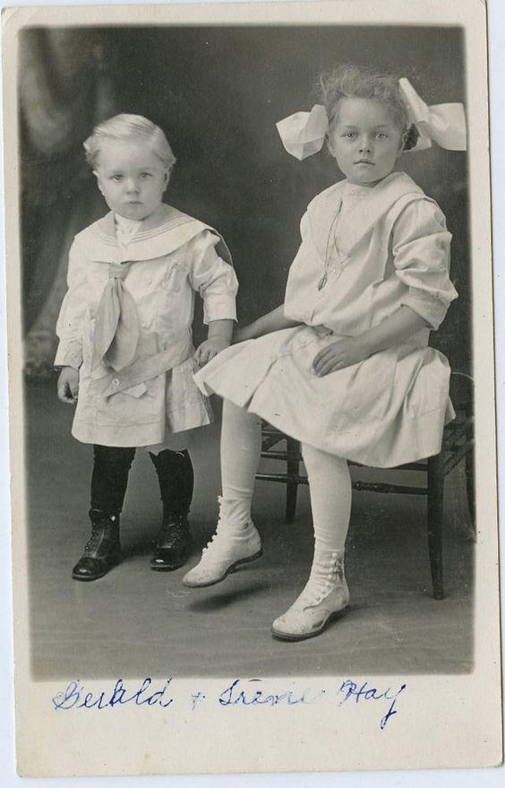 Real Photo Postcard of Gerald & Irene Hay