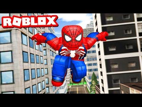 Becoming A Superhero In Roblox - Becoming Roblox Spider Man Youtube Spiderman Spider