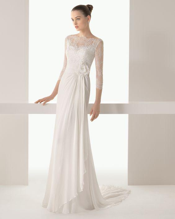 Irene vestido de novia soft Rosa Clara