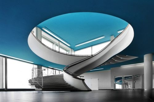 Awesome... can't figure out if it's the color or the staircase that does it for me
