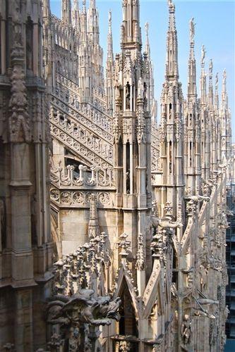 Duomo di Milano, Italy.