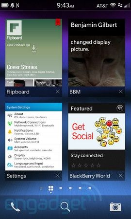 New Blackberry UI