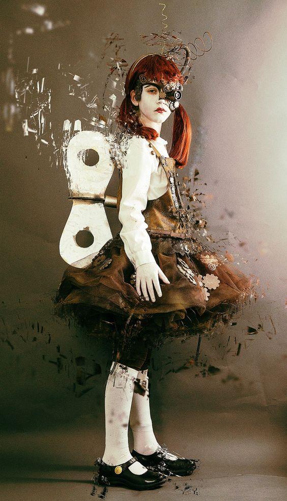 Steampunk doll by c sherrill on 500px steampunk fashion for Steampunk story ideas