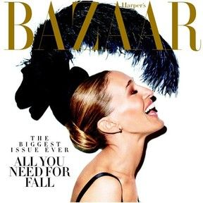 Sarah Jessica Parker harper's bazaar cover | LOVE this photo x
