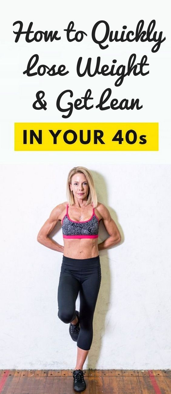trying trying to lose weight in your 40s lose weight in your 40s