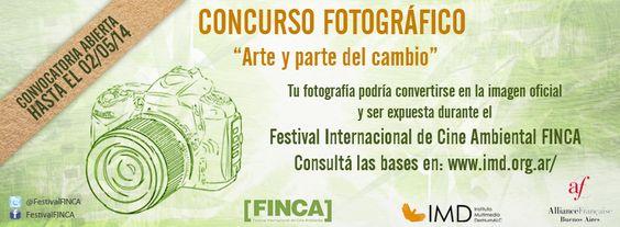 #Photography #Contest International Environmental Film Festival FINCA. #filmfestival #film #movies http://www.imd.org.ar/index_ing.php  #Concurso #Fotografía Festival Internacional de #Cine Ambiental FINCA. Convocatoria Abierta. #Ambiente http://www.imd.org.ar/?concurso