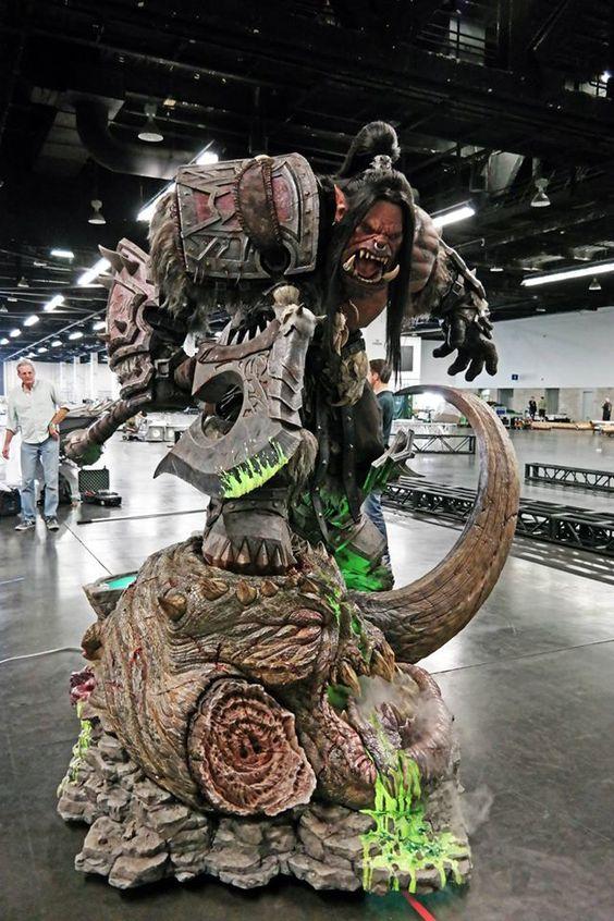 Arte de Steve Wang em conjunto com a Blizzard Entertainment