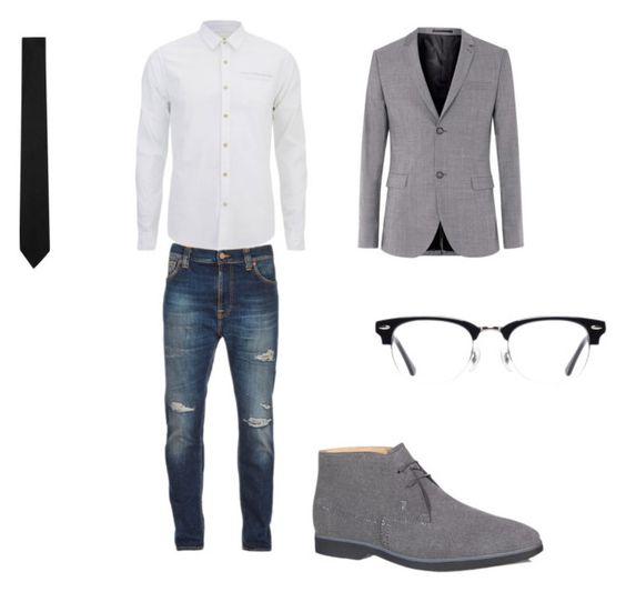 """""""#2"""" by directioner-792 on Polyvore featuring Nudie Jeans Co., Scotch & Soda, Topman, Yves Saint Laurent, Tod's and Ace"""