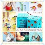 20 Fun Kid Activities!