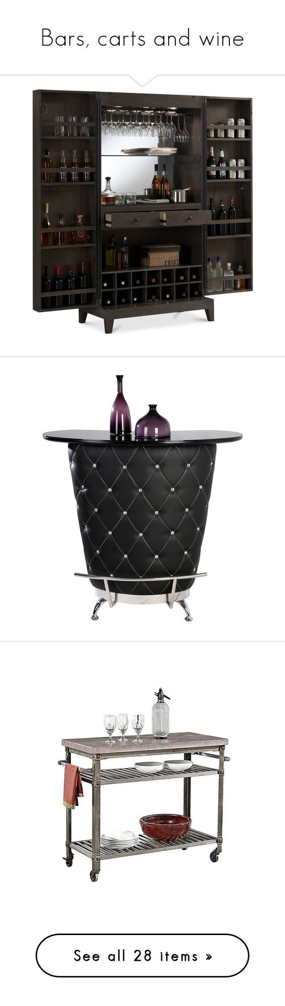 Wine Carts Cabinets Bars Carts And Wine By Amazing Yessi On Polyvore Featuring Home