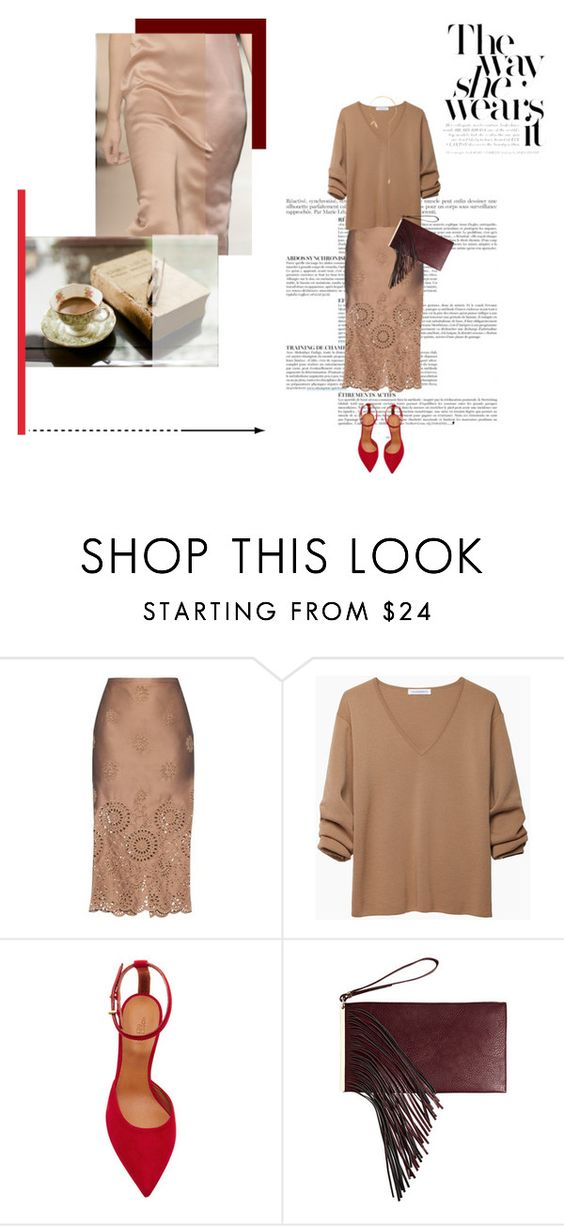 """""""Untitled #463"""" by nyclove18 ❤ liked on Polyvore featuring Anja, Rochas, J.W. Anderson, Rosetta Getty, Avenue and Jorge Morales"""