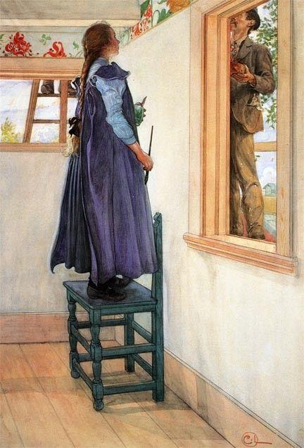 Suzanne y otro by Carl Larsson