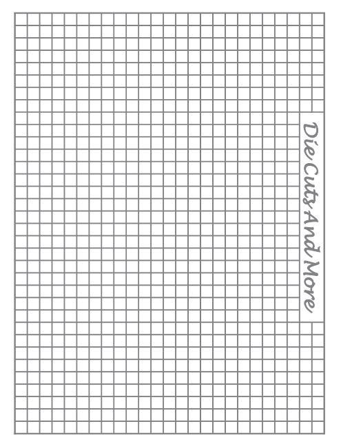 FREE Printable Grid Paper for the Stampoholic Stamping Tool - grid paper template