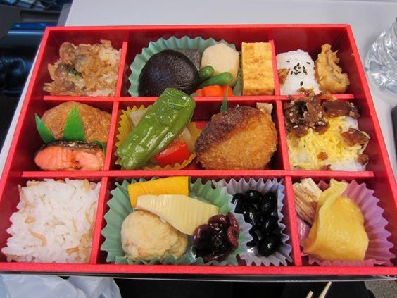 """As with every train journey, I had to get myself an ekiben (train bento box). "" via Melissa dreams of Sushi"