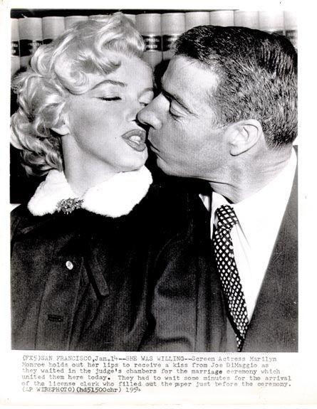 [MARRIED] Joe & Marilyn Wedding Day 1954