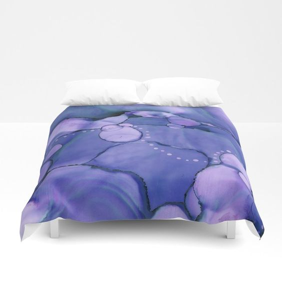 Buy Meandering Blue Abstract Painting Duvet Cover by laurabethlove. Worldwide shipping available at Society6.com. Just one of millions of high quality products available.