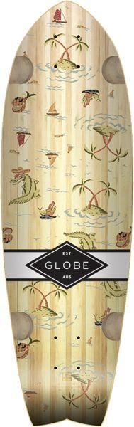 Globe Sun City Deck-9X30 Bamboo Palms Tailpad