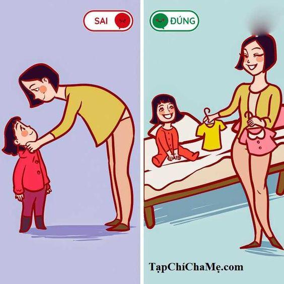 10 lời khuyên bổ ích của bác sĩ cho mẹ có con nhỏ