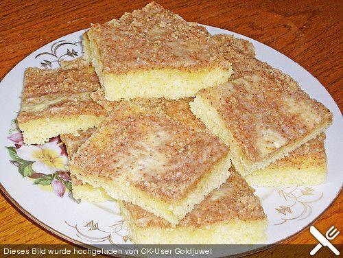 Tassen - Nusskuchen mit Buttermilch