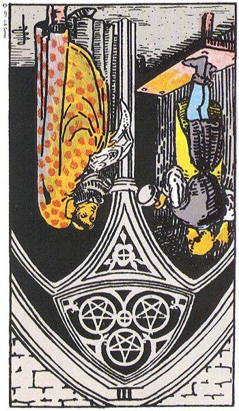 #Your #Tarot Card for #Tomorrow #March 5, 2015 3 of Pentacles reverse, uh oh? Find out what it means! A business or money deal falls through; not being able to sell your services, talents, gifts or ideas; a job offer may not come through or allow you to showcase your skills; ...