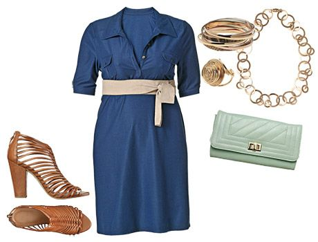 Tamanho GG. Navy elegante – look.  O vestido do tipo camisa é destaque nas coleções da loja. Prefira usar os botões abertos para alongar a silhueta.