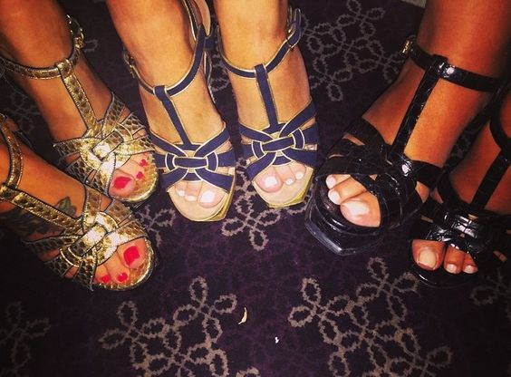 ysl chyc messenger - YSL tribute sandals   Tr��s en VOGUE   Pinterest   Sandals