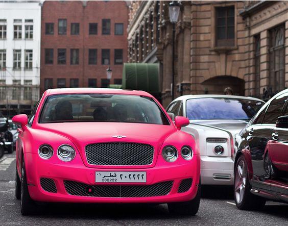 Bentley x Matte Pink Car Wrap