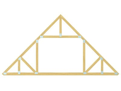 All about roofs pitches trusses and framing roof pitch Pre made roof trusses