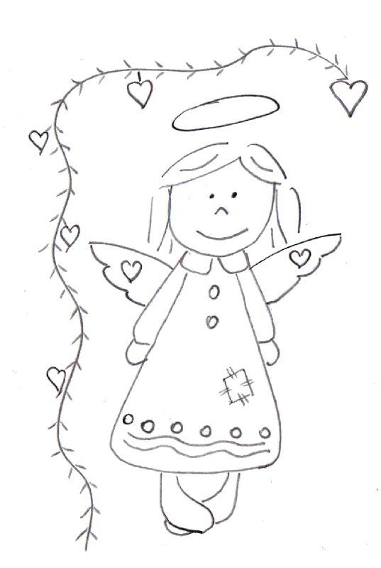 Angel - this site is written in French, but it has lots of photos to embroider