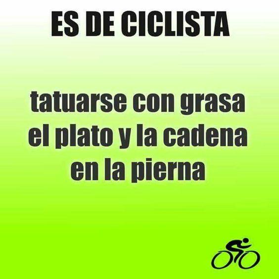 Es de ciclista