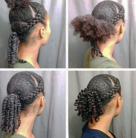 39 Crazy Braided Ponytail Hairstyles Natural Hair Styles