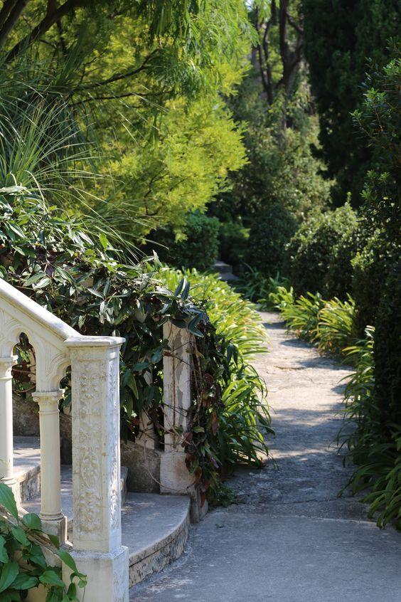 Villa Ephrussi de Rothschild, garden, seaside villa and garden, Cote d'Azur, France, August 2015, Agata Byrne garden travels