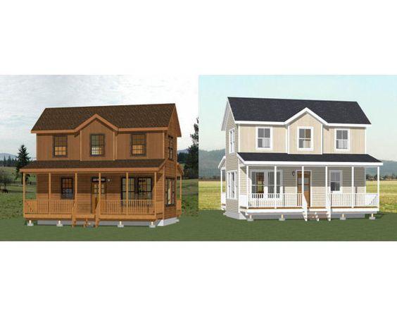 28 x 16 2 chambres petites maisons821 pieds par ExcellentFloorPlans