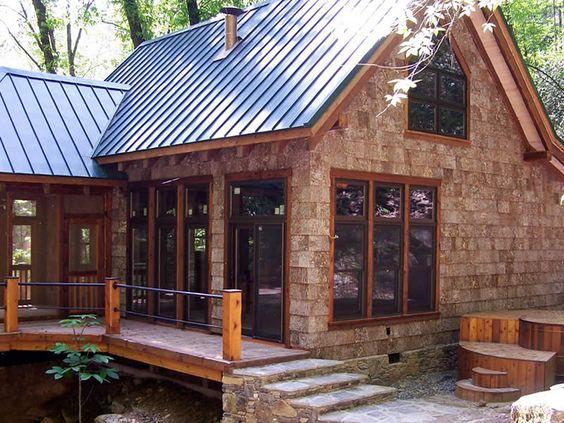 Bark Siding Home Portfolio Parton Bark Siding House Exterior Cabins And Cottages House Siding