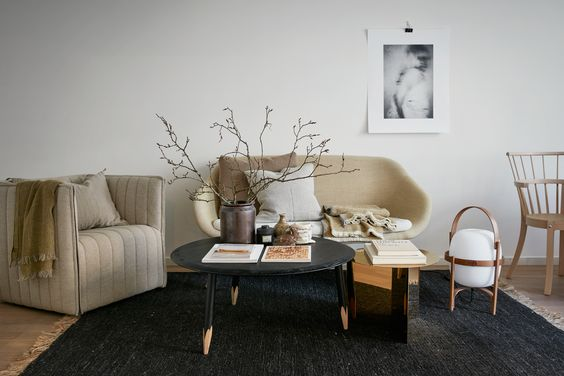 34m2 in neutral shades, styling by josefin hååg for fantastic frank, via http://www.scandinavianlovesong.com/