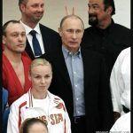 Steven Segal i Vladimir Putin