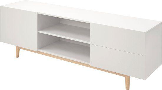 Uitgelezene Lisomme - Scandinavisch TV Meubel - Roos - 160 cm - Wit (met BT-91