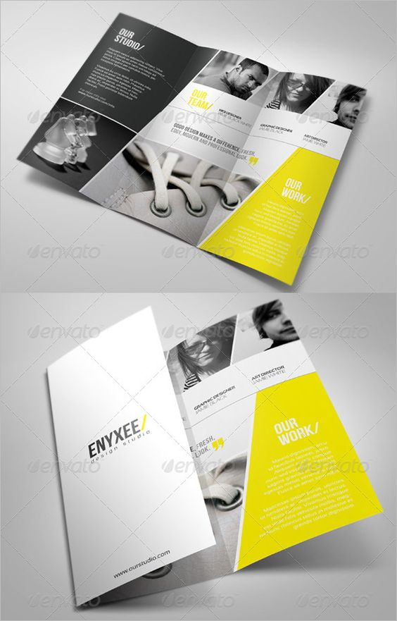 tri fold brochure template word