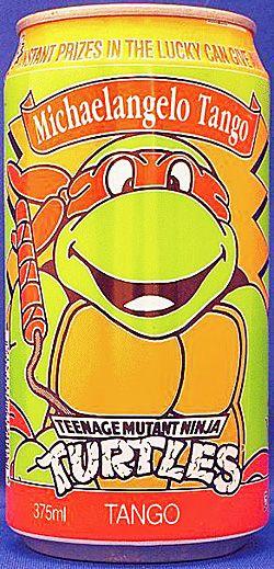 1991 Teenage Mutant Ninja Turtles Michaelangelo Tango