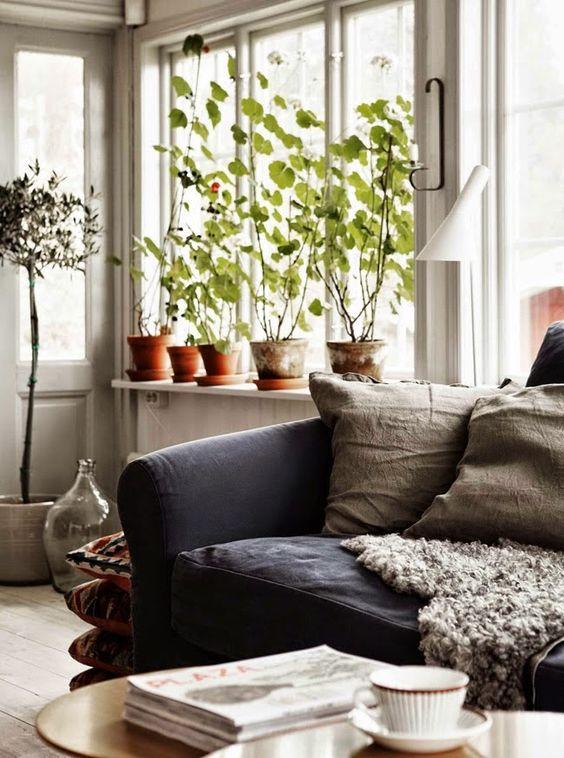 A beautiful Swedish home and creative studio. #scandinavian #interiordesign #homedecor