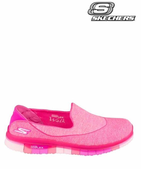 Skechers | 14010 Go Flex | Sneakers | Pink | MONFRANCE Webshop