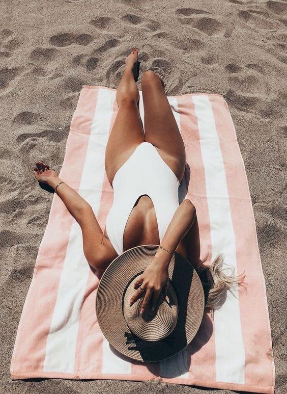 Fotos Tumblr na Praia estilo