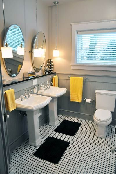 This Is The Kind Of Pedestal Sink We Want And The Vanity Cupboard - Old house bathroom remodel ideas