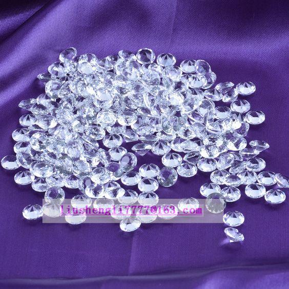 Schicken Mehr Kristall Handwerk Information über 12 mm kristalldiamant luxuriöse dekorationen eine Packung von 100 Stück klare farbe mit sichere verpackung, High Quality diamond home decor, diamond art China Lieferanten, Günstige diamond cvd von Kinglike Crystal E-Shop auf Aliexpress.com
