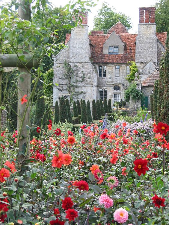 Garsington Manor, a Tudor era manor house in Oxfordshire, England: