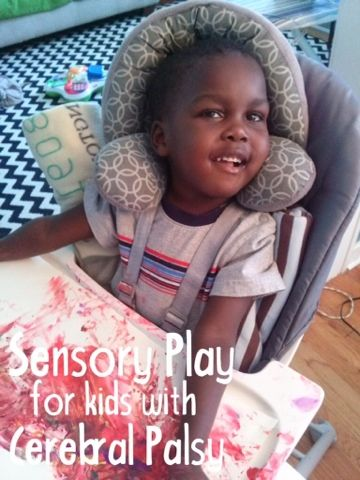 heart knit home: Sensory play and activities for kids with cerebral palsy